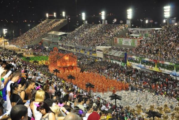 В Бразилии открылся знаменитый карнавал
