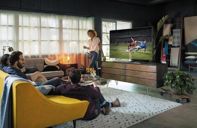 В России стартовали продажи новых телевизоров Samsung QLED 2018