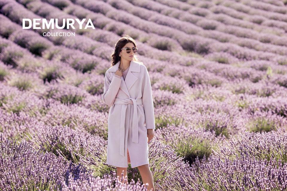 Модный дом DEMURYA представил рекламную кампанию новой коллекции FW/16-17