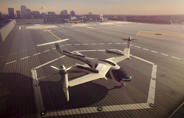 """CNN: Uber и NASA будут работать над созданием """"летающих такси"""""""