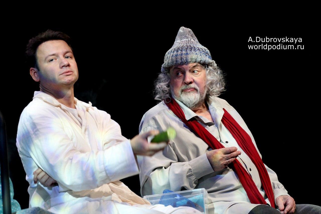 «Где мы?..» Что происходит вокруг? – Ширвиндт, Олешко и Добронравов в философской фантасмагории на сцене Театра Сатиры