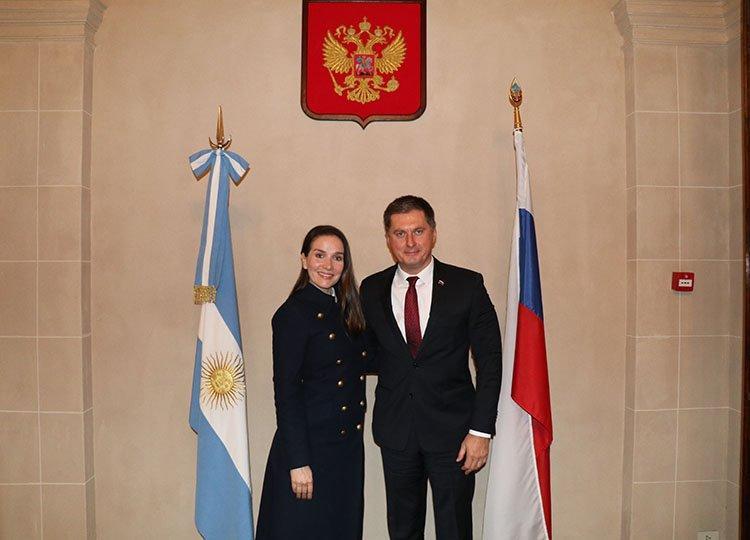 Наталия Орейро встретилась с Российским Послом в Аргентине