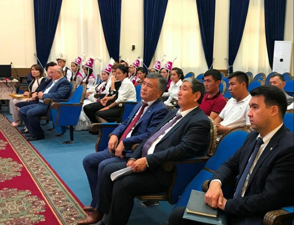 В Узбекистане отметили юбилей кыргызского языка