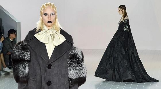 Леди Гага приняла участие в показе  новой коллекции Марка Джейкобса