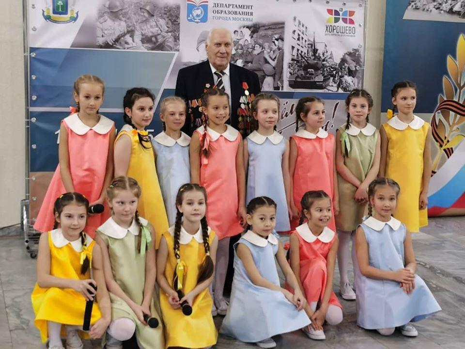Детский музыкальный театр «Домисолька» принял самое активное участие в праздничных концертах, посвящённых Дню защитника Отечества