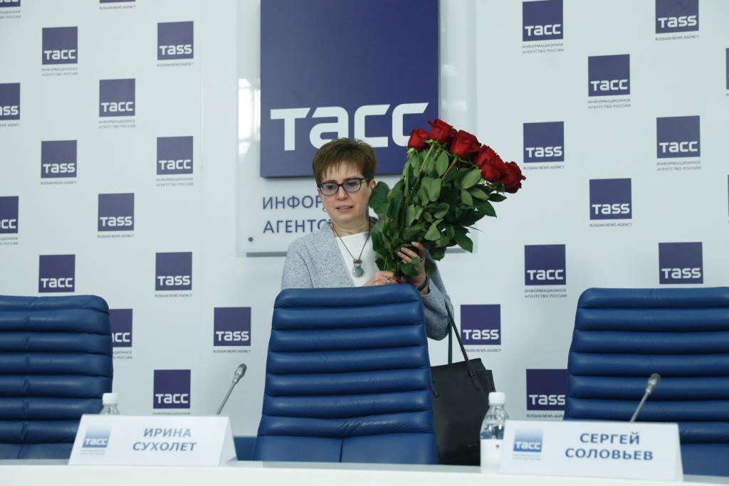 Фоторепортаж ТАСС с пресс-конференции в честь 25-летнего юбилея Института современного искусства