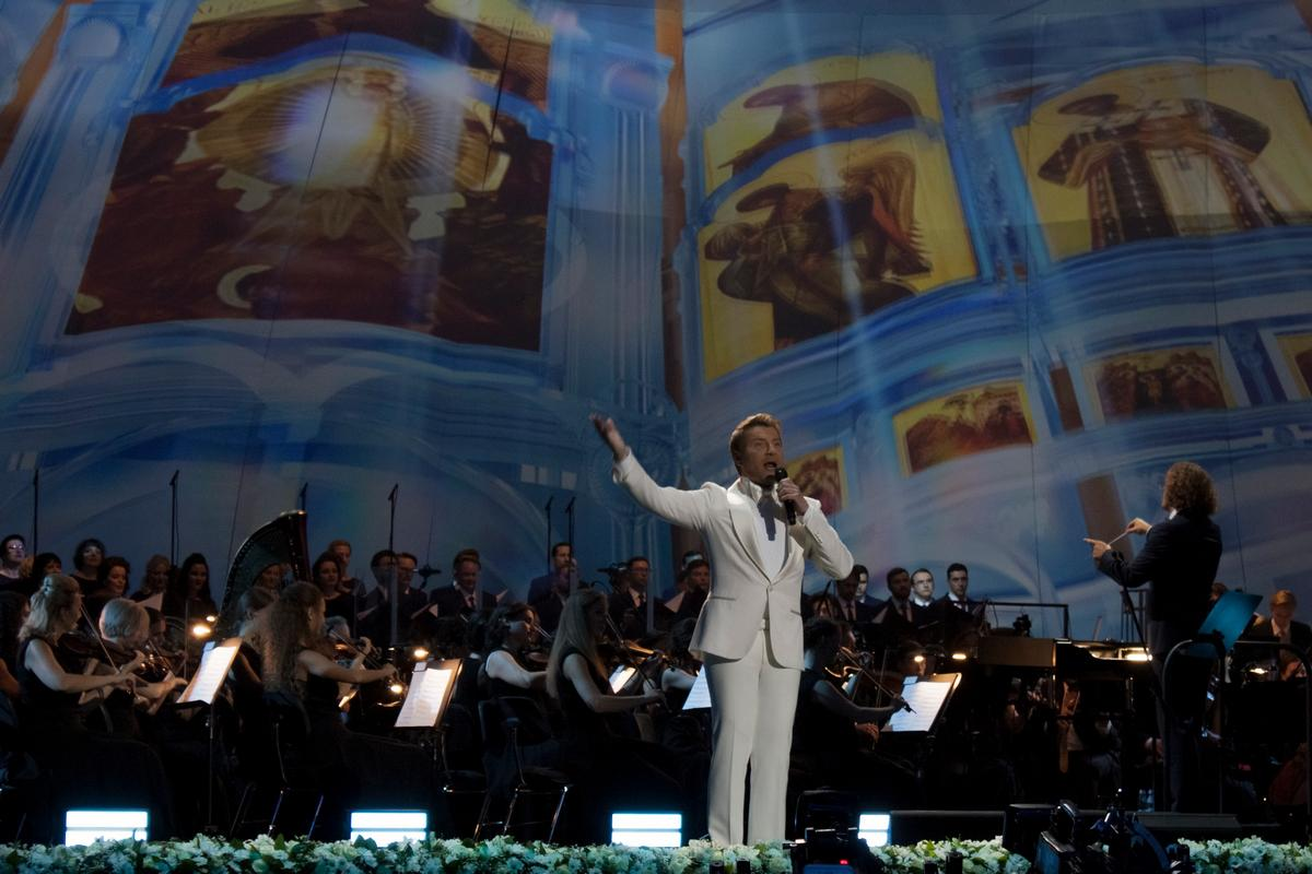 «Я призываю Вас любить и наставленья Бога слушать…» - Николай Басков презентовал альбом «Верую» в Кремле