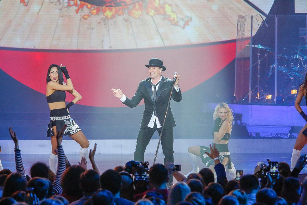 Сергей Безруков отпраздновал свое 45-летие рок-концертом