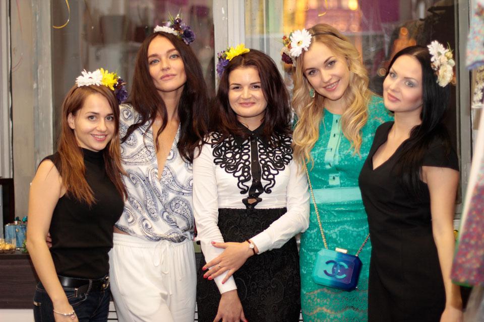 Дизайнер Александра Павлова устроила девичник в честь дня рождения
