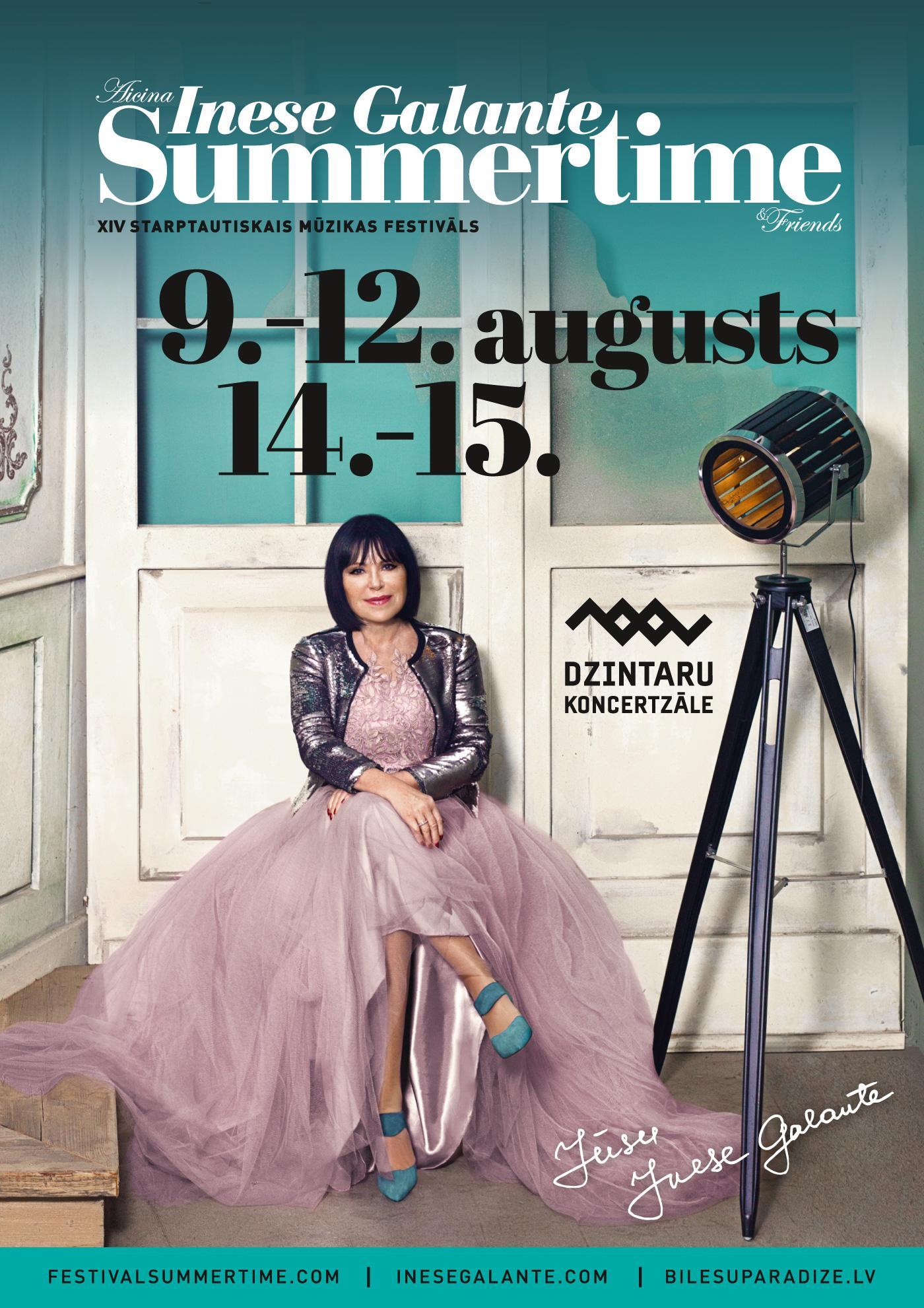 Началась продажа билетов на фестиваль «Summertime 2018 – приглашает Инесса Галанте»