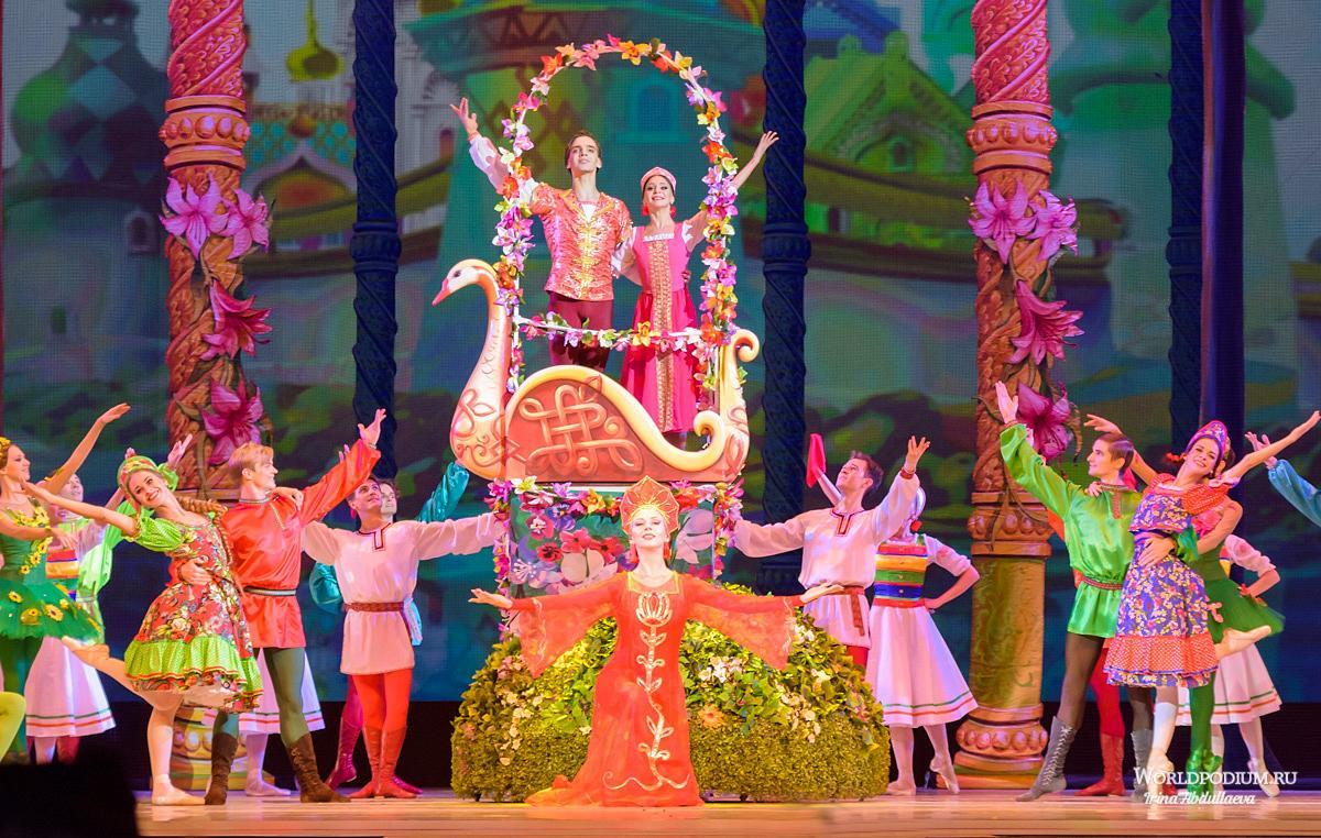 """VII Международный фестиваль балета в Кремле. Премьера. Аленький Цветочек. Спектакль театра """"Кремлёвский балет"""""""
