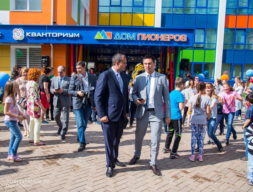 В Альметьевске открылся детский технопарка «Кванториум»