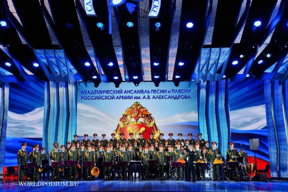 Ансамбль Александрова выпустил альбом ко Дню Победы