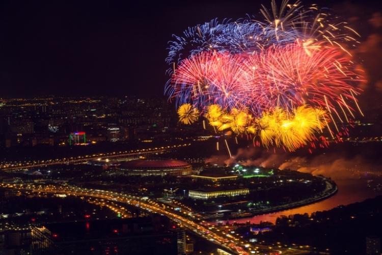 Более 1000 москвичей и гостей столицы отпраздновали День Победы на самой высокой точке Европы