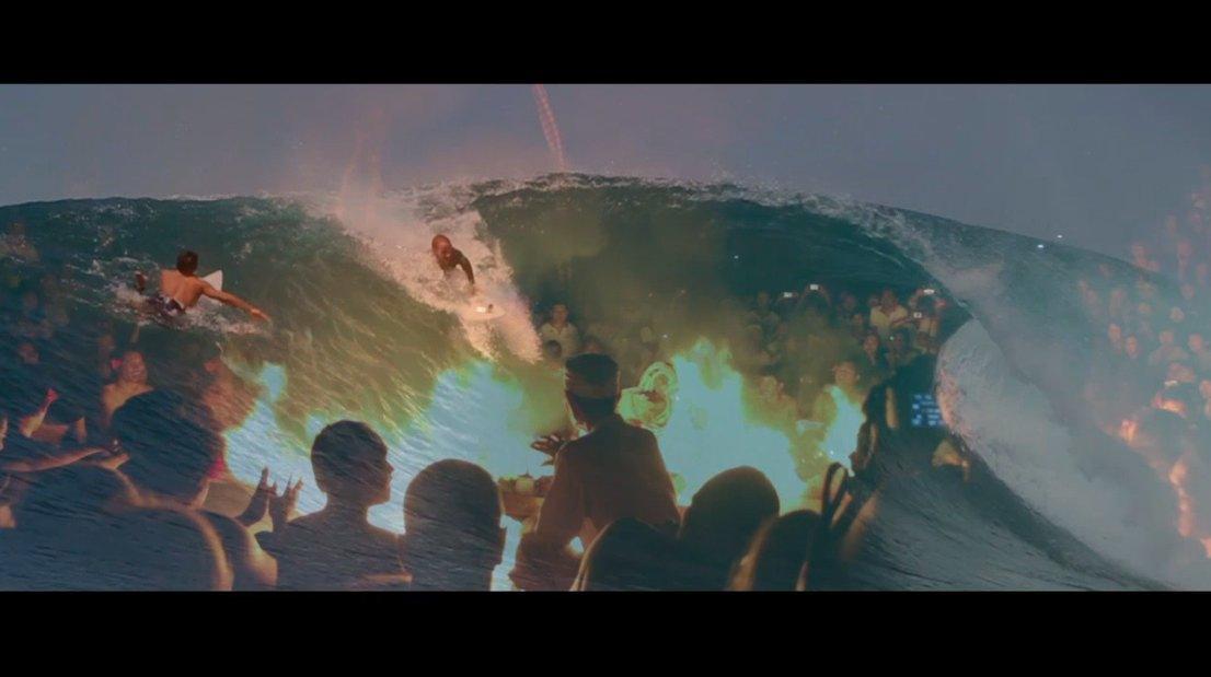 Фильм о красоте океана и серфинга «На волне» в прокате с 7 февраля!