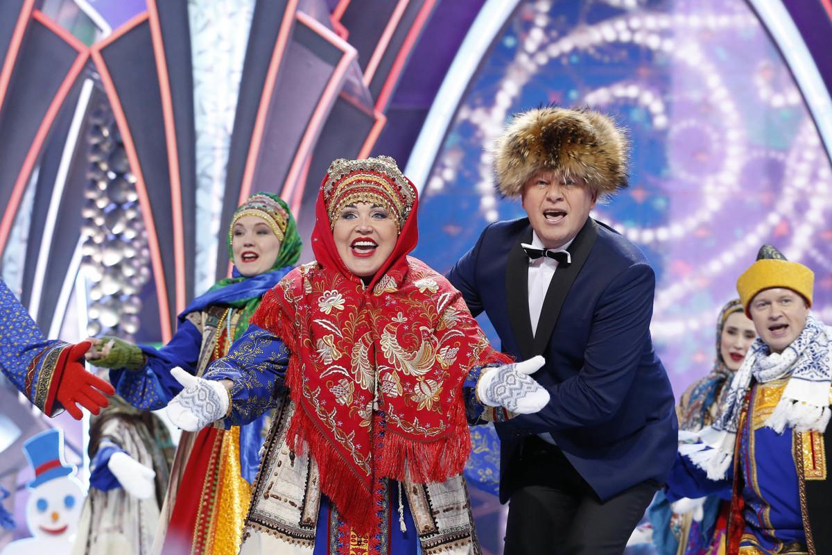 Россияне в новогоднюю ночь предпочли «Россию»