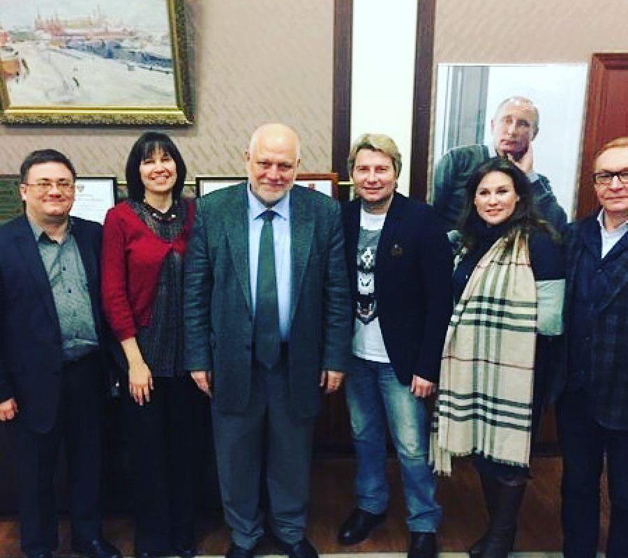 Певец Николай Басков стал профессором МПГУ