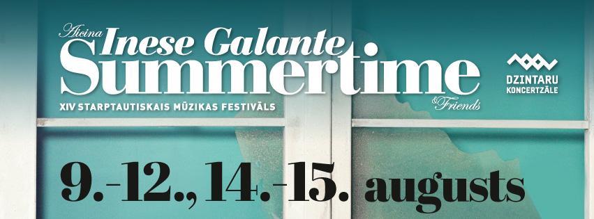 Фестиваль «Summertime - приглашает Инесса Галанте» начнется с небывалого события