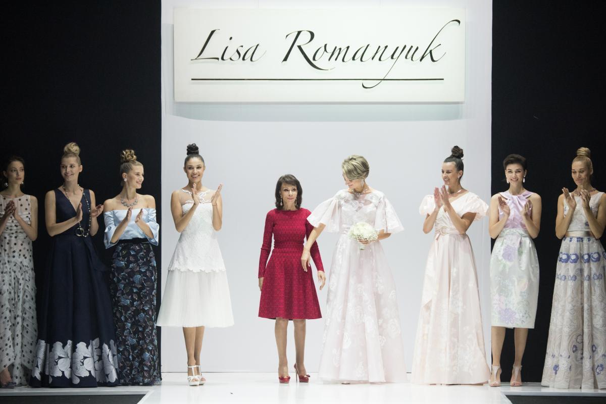 «Дуновение» - новая коллекция дизайнера бренда Vemina by Lisa Romanyuk на Неделе моды в Москве