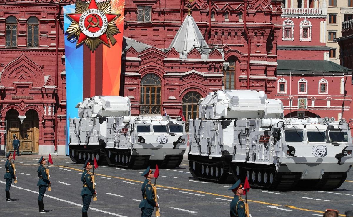 В Москве прошел военный парад