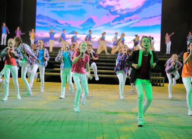 Актёрами мюзикла на тему экологии стали 700 Артековцев