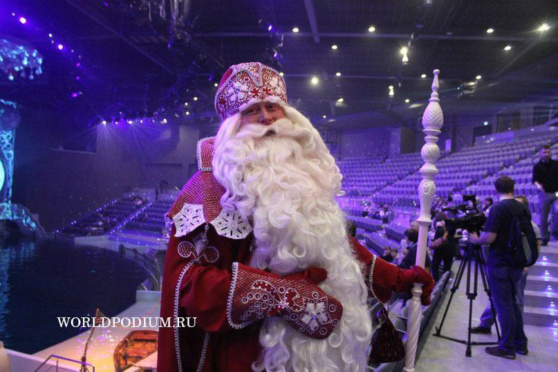 В резиденции российского Деда Мороза прошла благотворительная акция