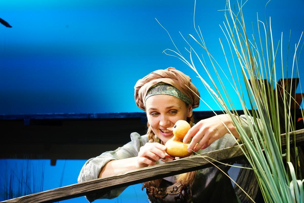 Театр кукол Образцова: Премьера спектакля «Гадкий утенок»