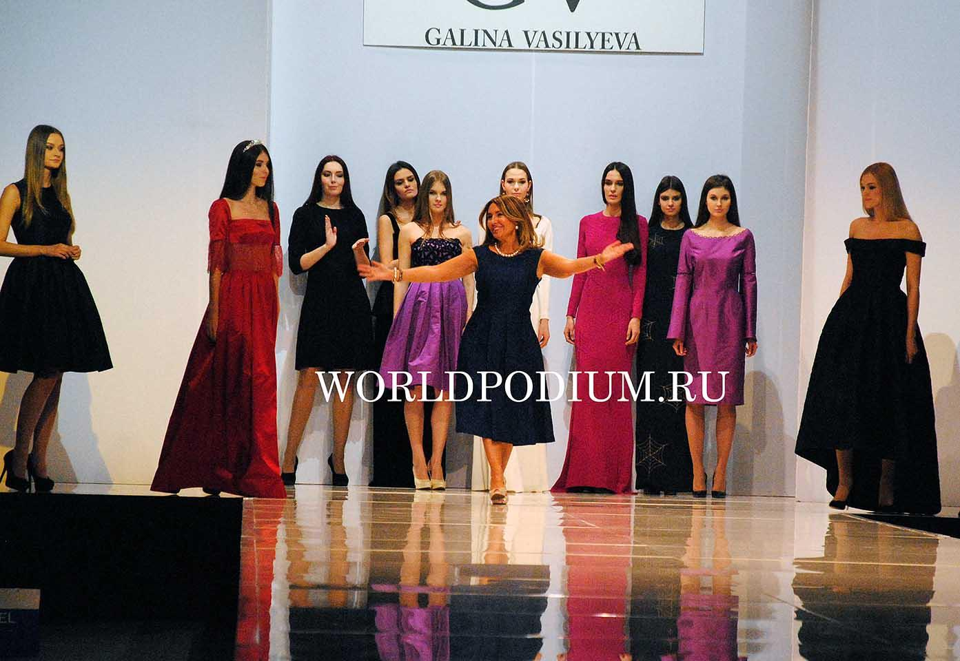Модный дом GV Galina Vasil'eva представляет новую коллекцию «Перезагрузка» на Неделе моды в Москве