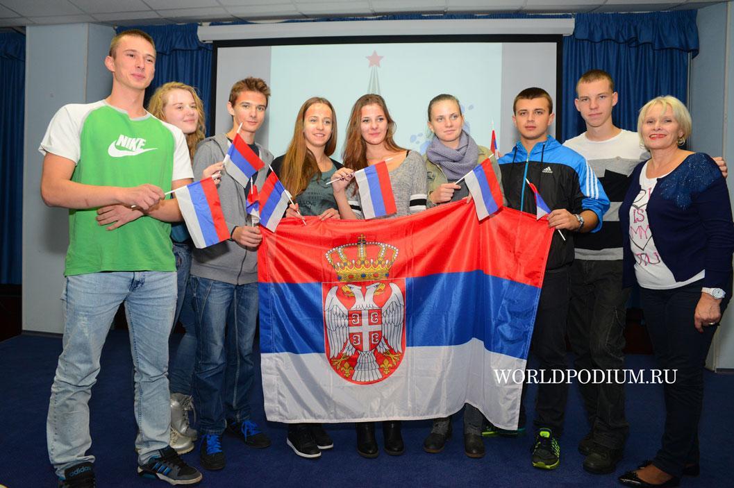 Проект «Здравствуй, Россия» встретил у себя гостей из Института Современного Искусства