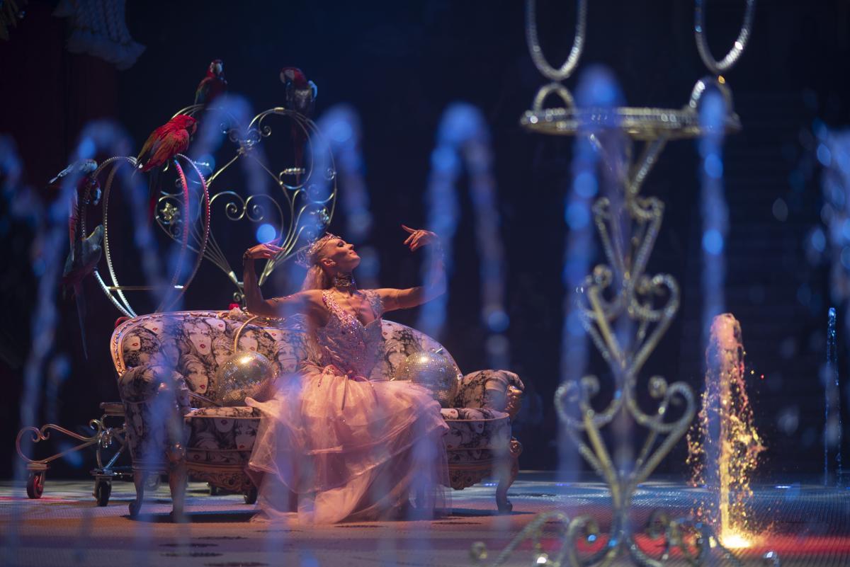 Премьера циркового спектакля «13 месяцев»