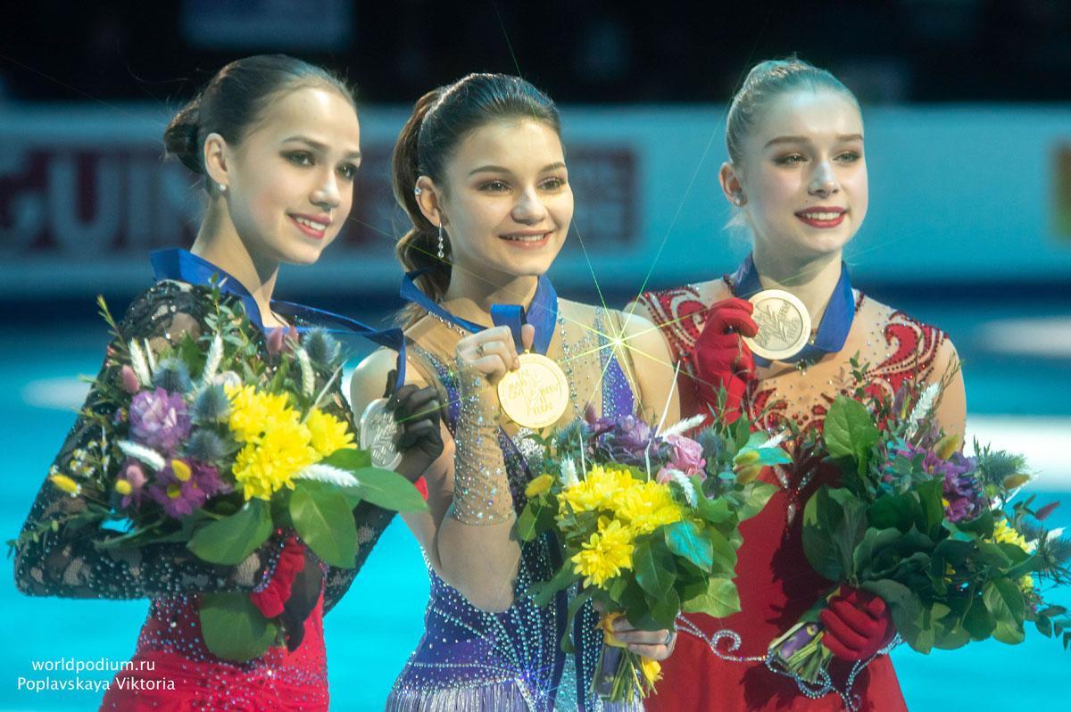 Софья Самодурова – золото, Алина Загитова – серебро: россиянки завоевали две главные медали Чемпионата Европы по Фигурному катанию!