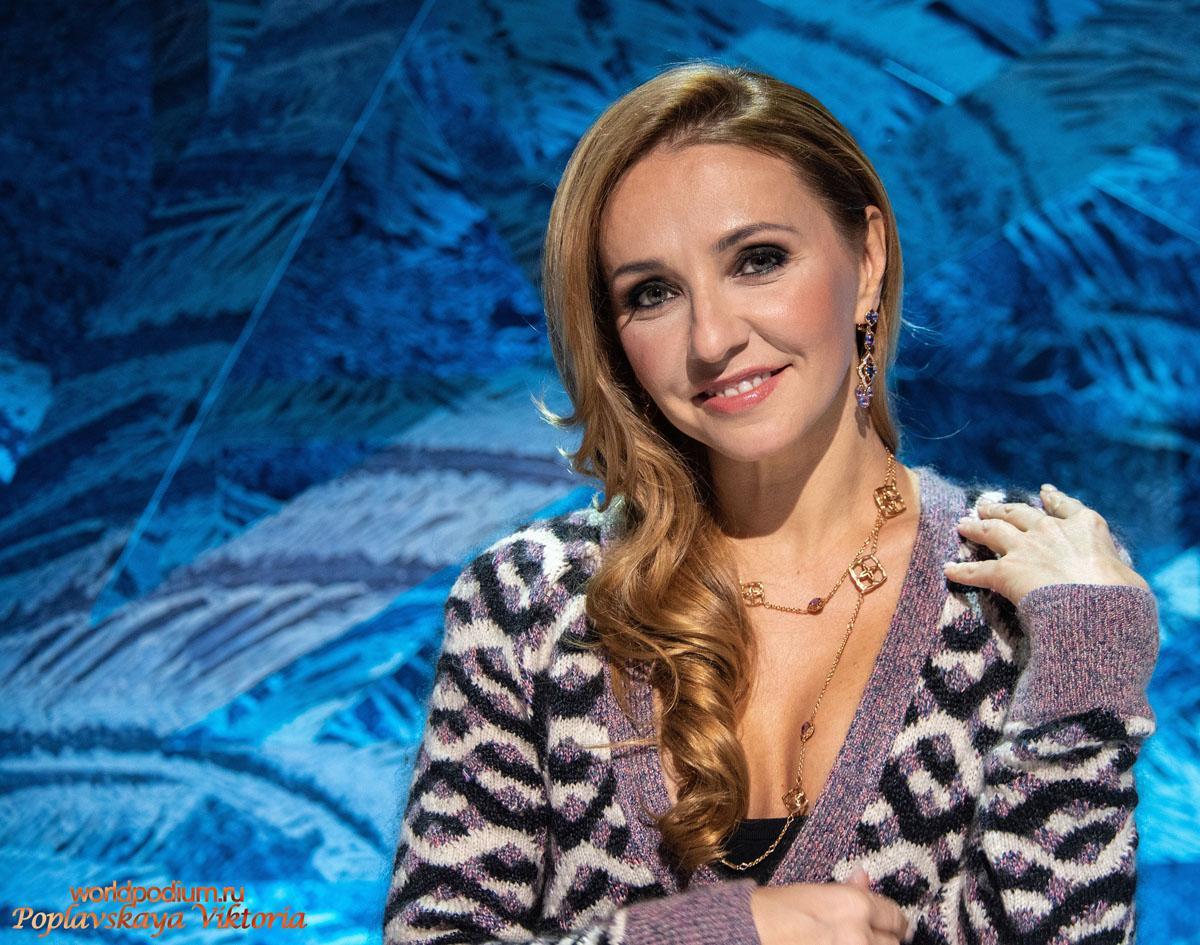 Татьяна Навка блистает в шоу «Ледниковый период» в украшениях Chopard