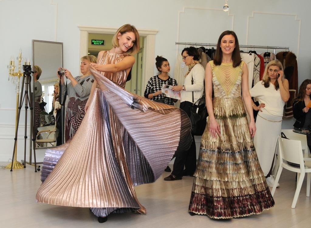 «Есть чувства, которые поднимают нас от земли!», - дизайнер Лиза Романюк устроила пресс-день в доме моды VEMINA