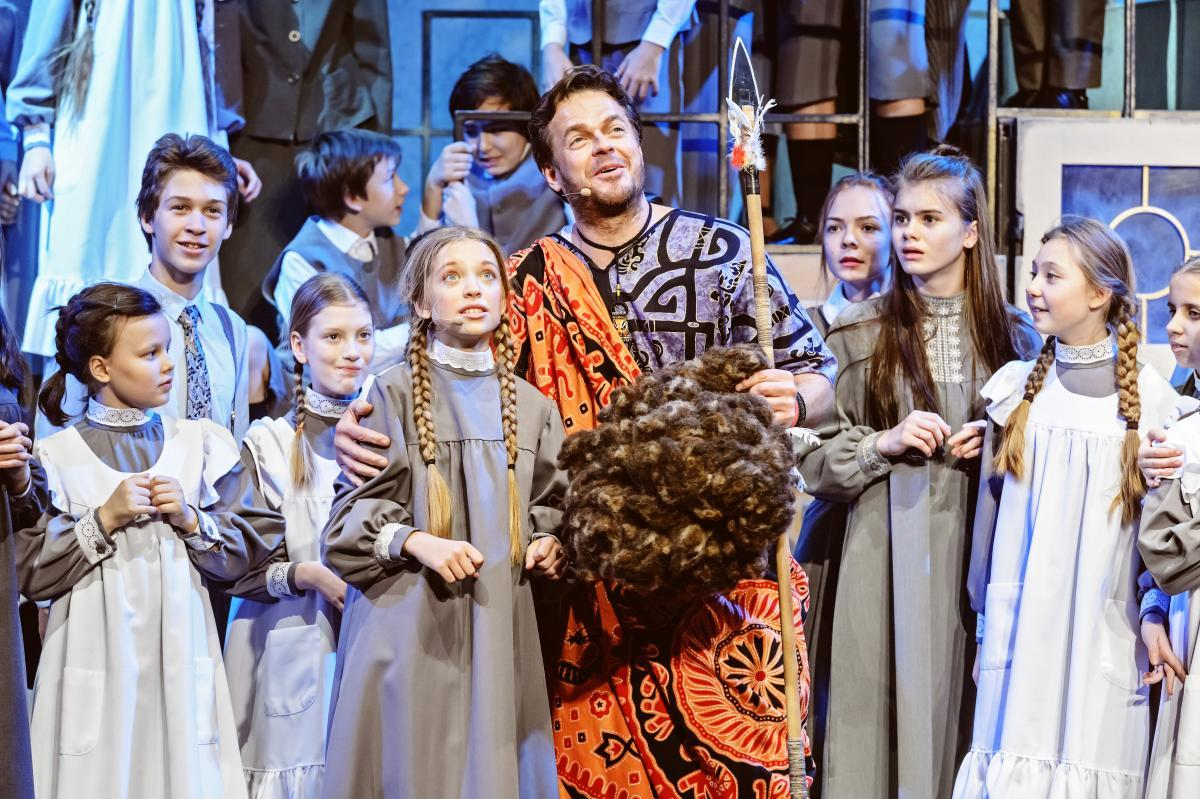 Детский музыкальный театр юного актера разместил видеоверсию спектакля «Пеппи Длинныйчулок»