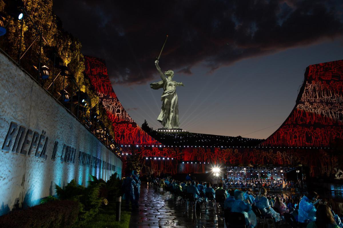 Грандиозный Концерт Победы на Мамаевом кургане