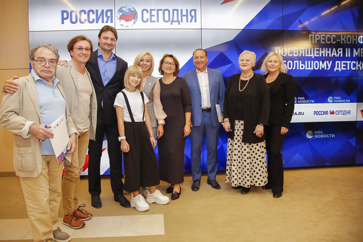 Сергей Безруков представил программу Международного Большого Детского фестиваля