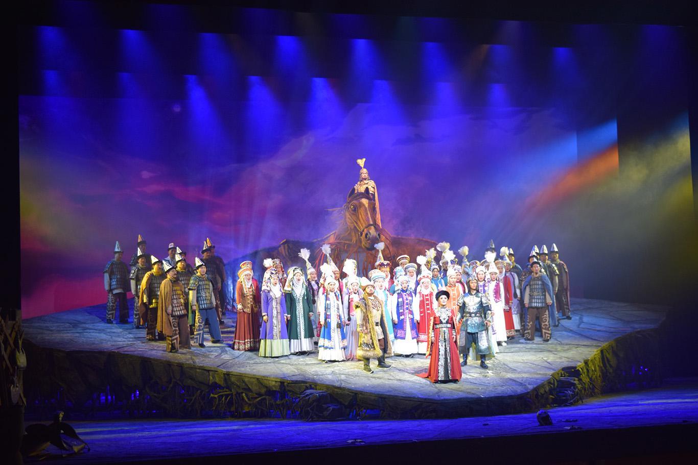 В Пекине прошла постановка оперы по эпосу «Манас» на китайском языке