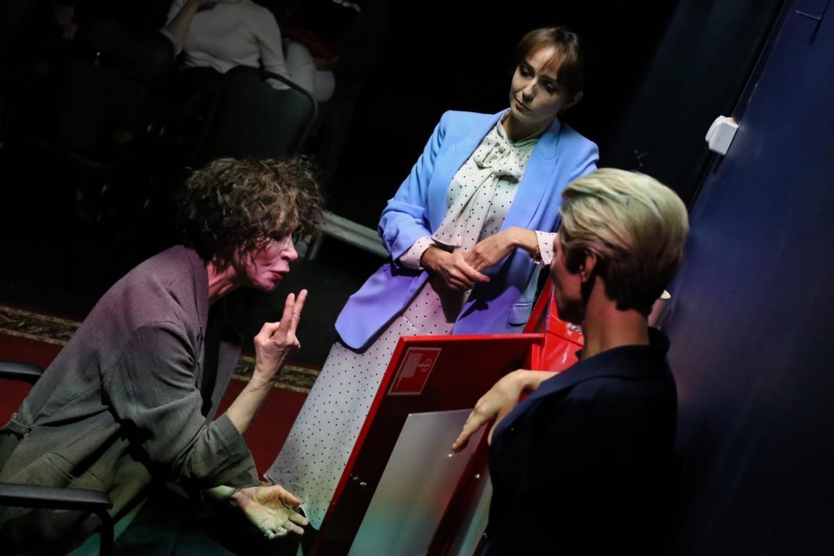 «Дуэль системы и личности!»: премьера спектакля «Бешеный хворост» в театре «Школа современной пьесы»