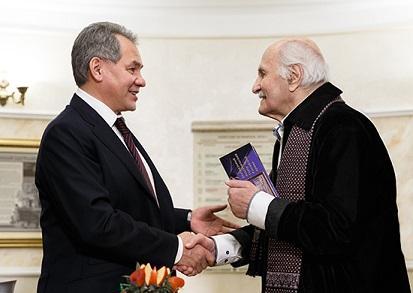 Министр обороны России поздравил Народного артиста СССР Владимира Зельдина со 101-м Днём Рождения
