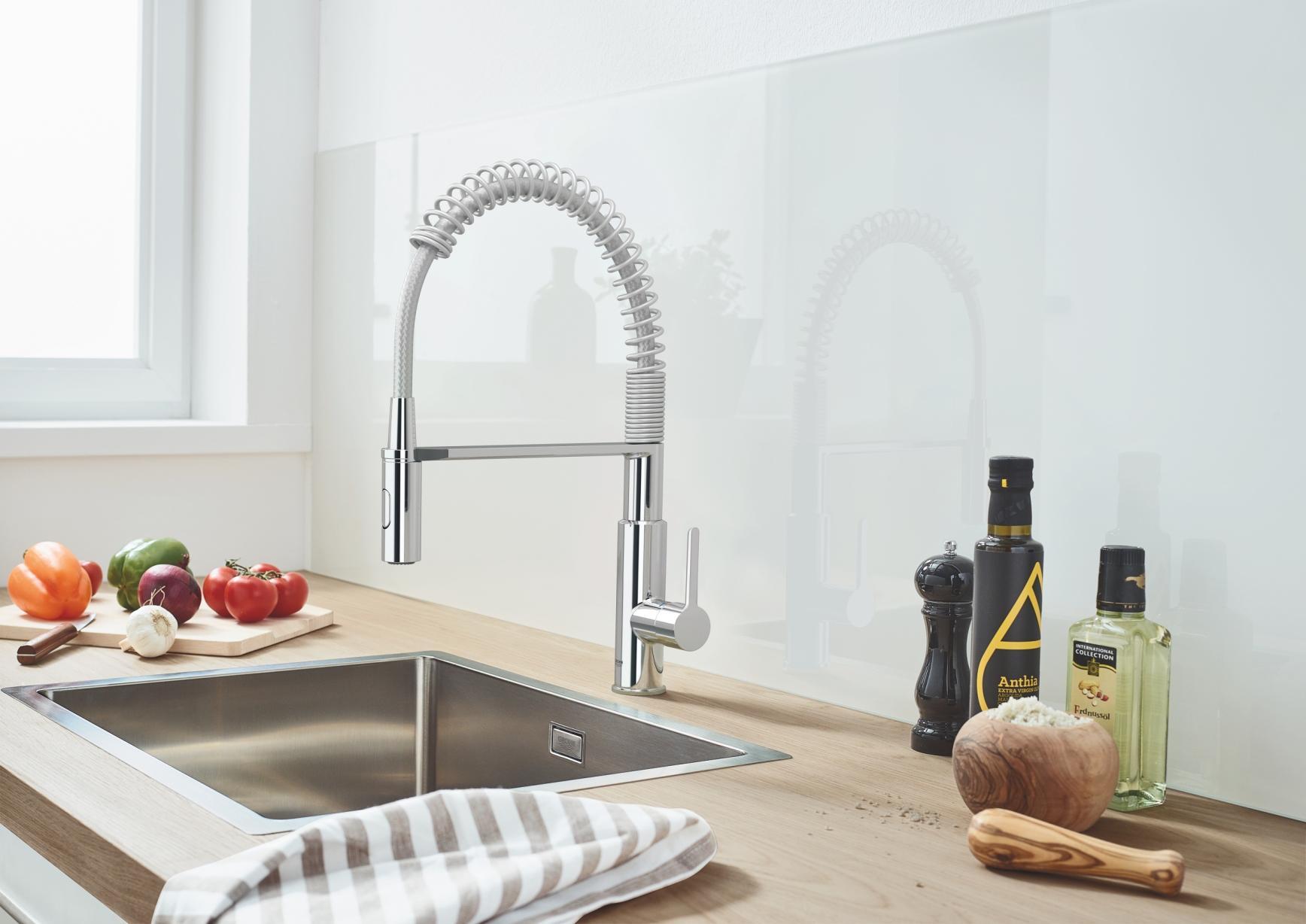Новая коллекция кухонных моек GROHE – союз формы и функциональности