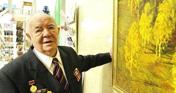 Александр Лукашенко поздравил с юбилеем народного художника Белоруссии Виктора Громыко