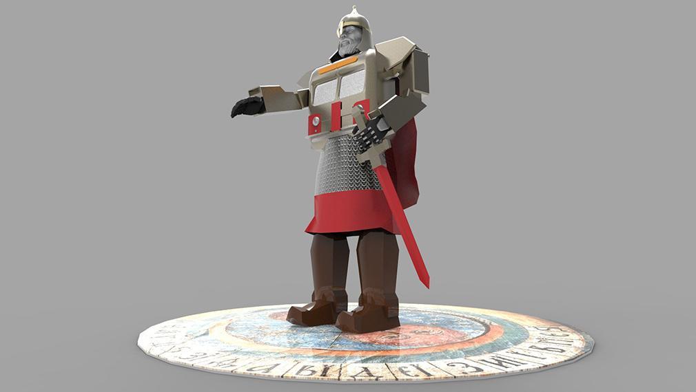 В столице установят гигантского робота «Юрия Долгорукого»