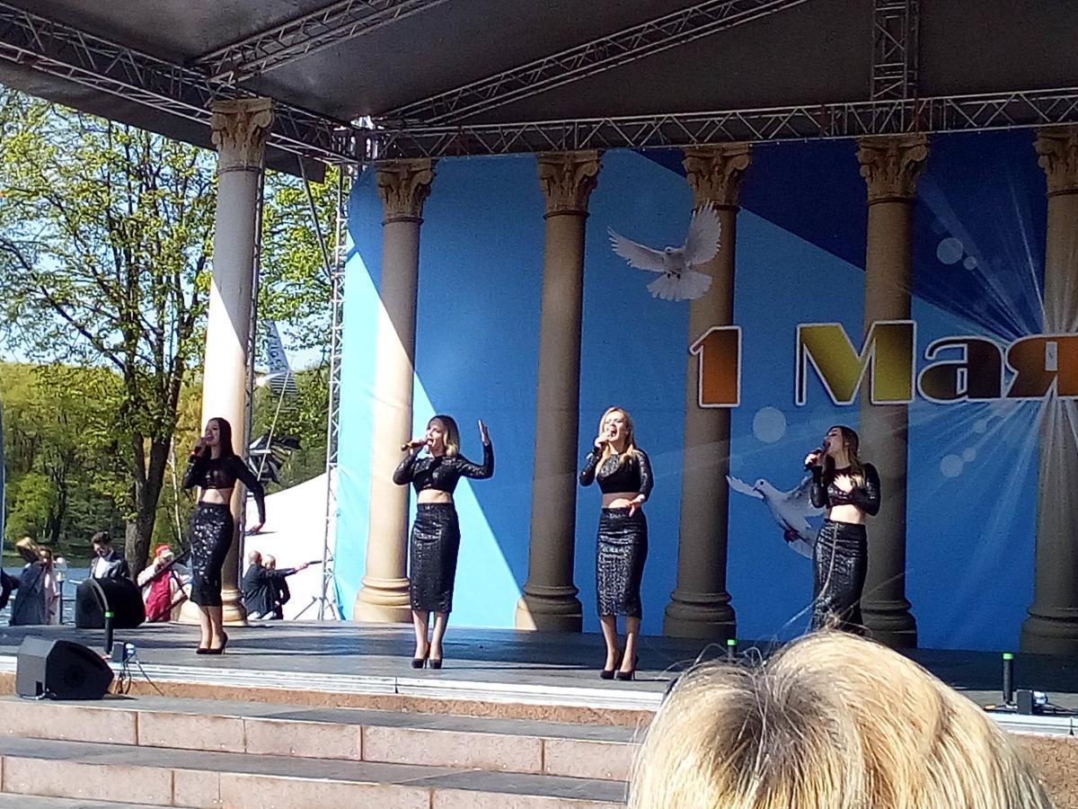 В Минске прошел концерт ко Дню труда