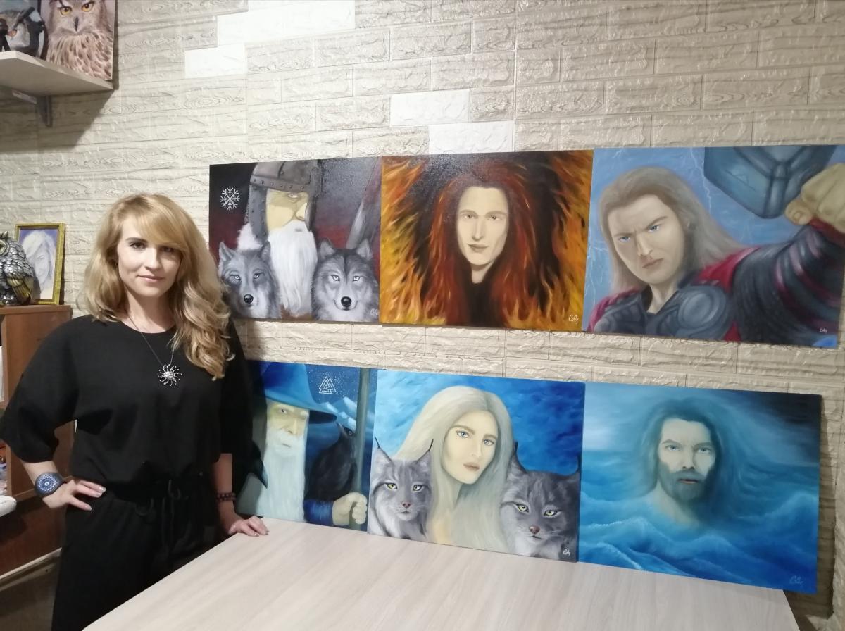Светлана Мисюра: «Самая высокая награда для художника - вдохновлять!»