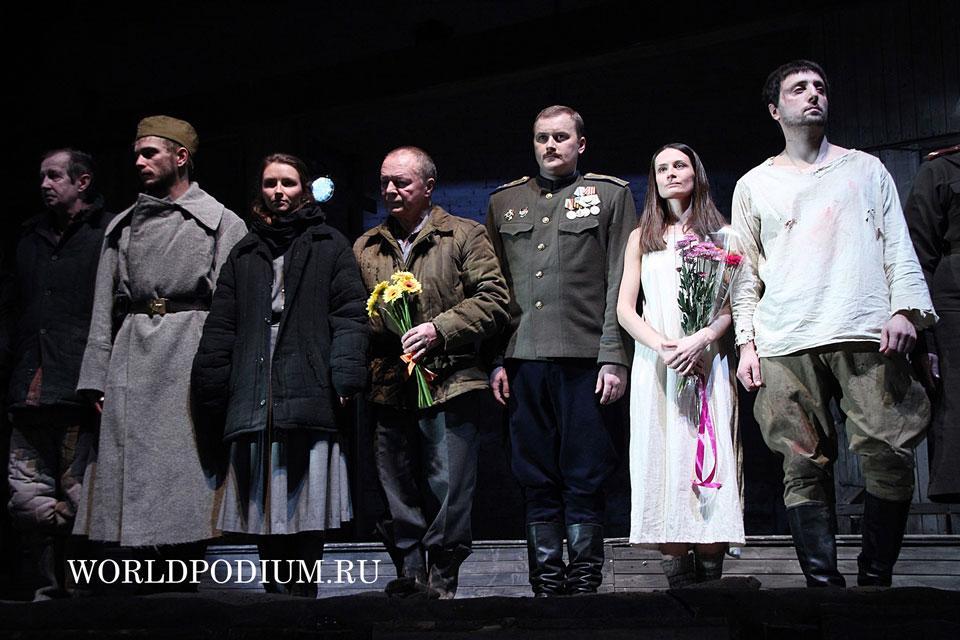 «Весёлый солдат» в «Московском Губернском театре»- весь спектр Драмы и Судьбы Человека на войне и после неё...