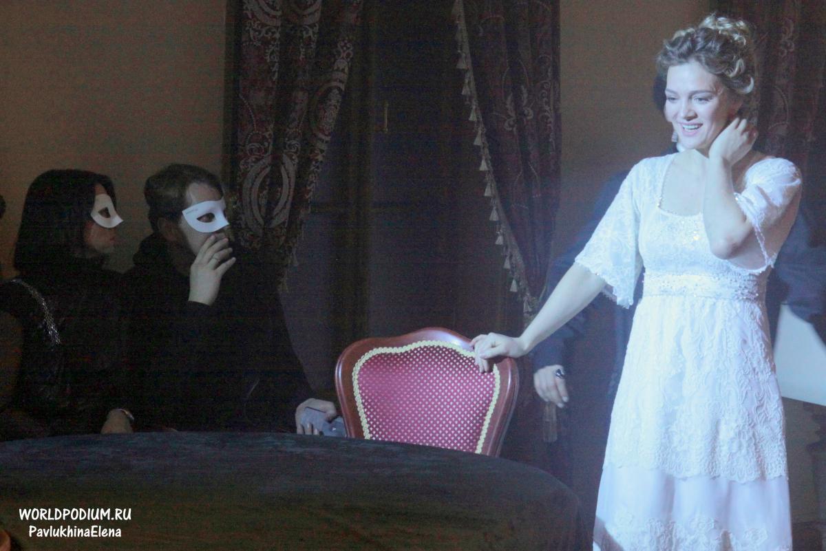 «Я в тайну масок все-таки проник», - премьера второй части театрального сериала в иммерсивном формате  «Дом 19|07»