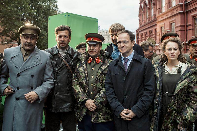 «Увидеть Сталина» на Красной площади с Владимиром Мединским