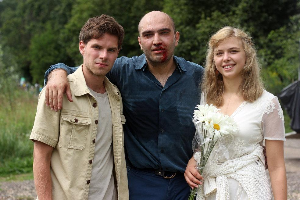 Оксана Карас приступила к съемкам «Выше неба»