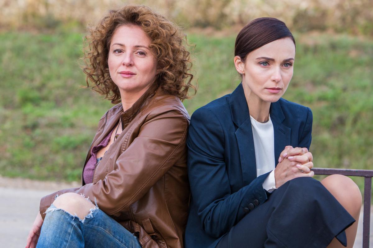 Анна Банщикова и Анна Снаткина в премьере многосерийного фильма «Отчаянные» на Первом канале