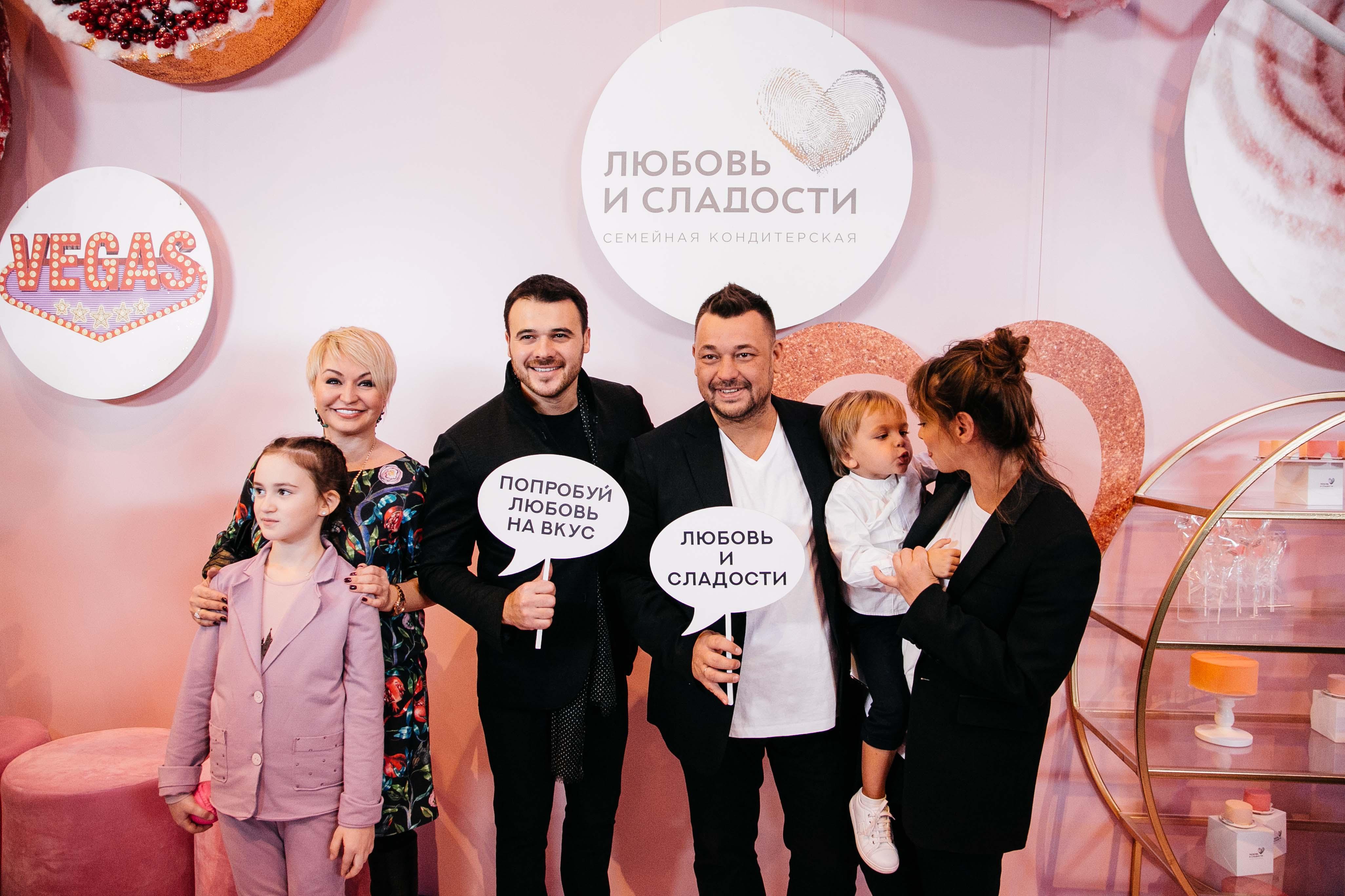 Открытие кондитерской Сергея Жукова и Регины Бурд «Любовь и сладости» в ТРК VEGAS Крокус Сити